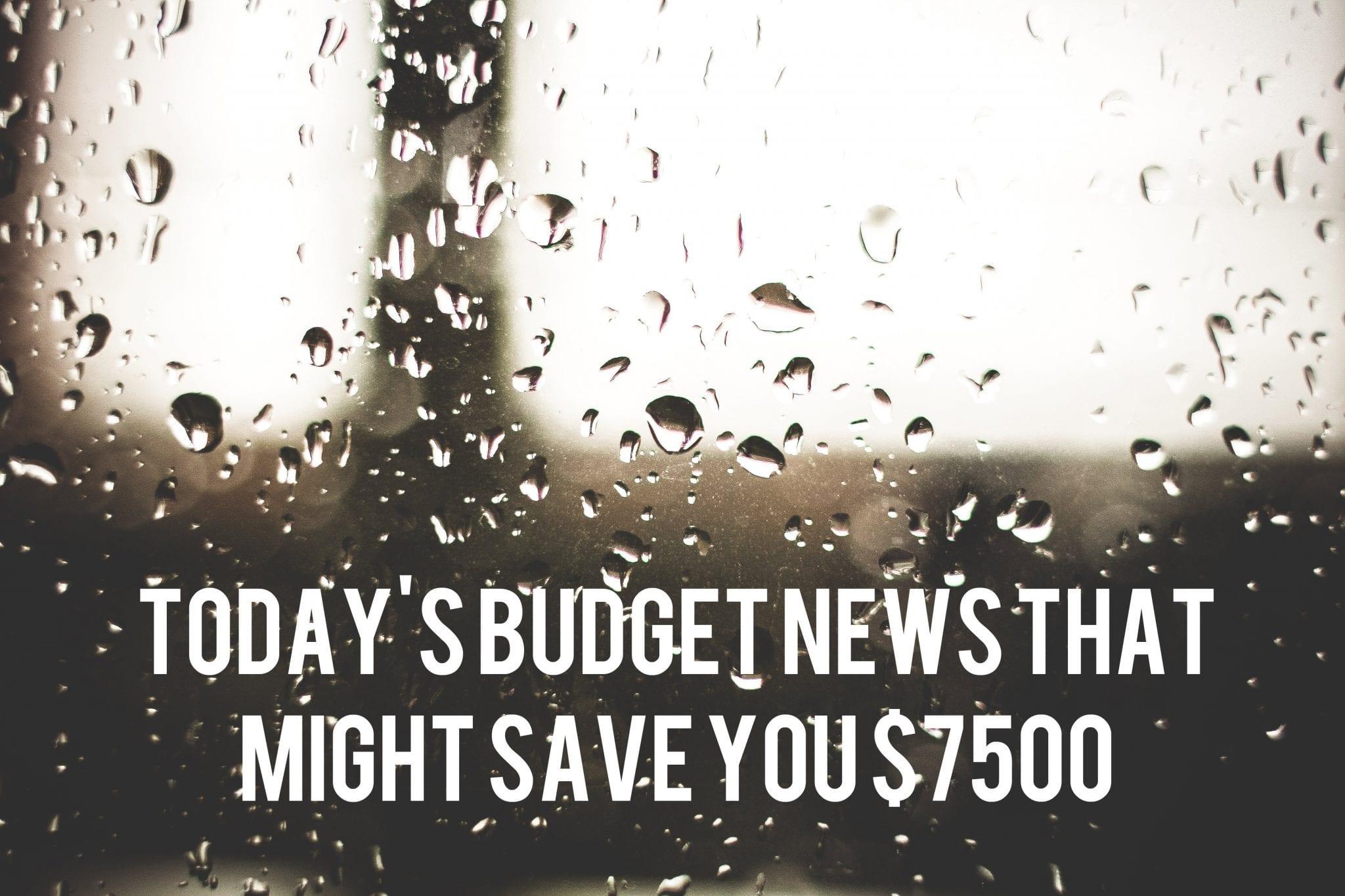 2014 BC budget savings